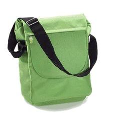 recycled PET messenger bag
