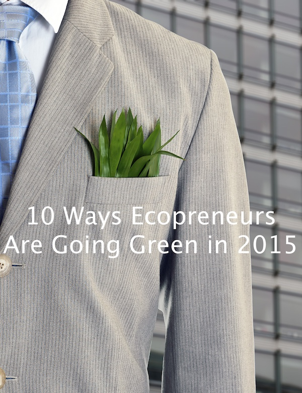 10 Ways Ecopreneurs Are Going Green in 2015