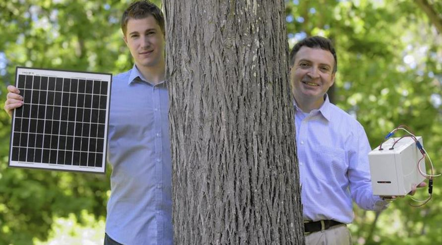 Solar Power Entrepreneurs at UConn