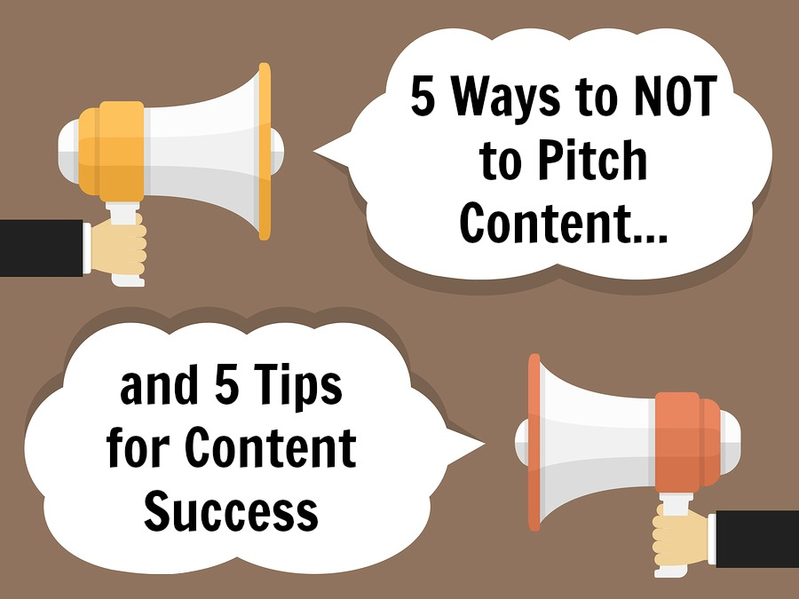 5 ways to NOT pitch content