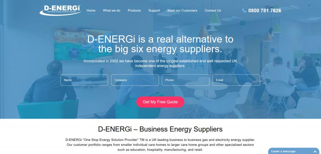 D-Energi screenshot