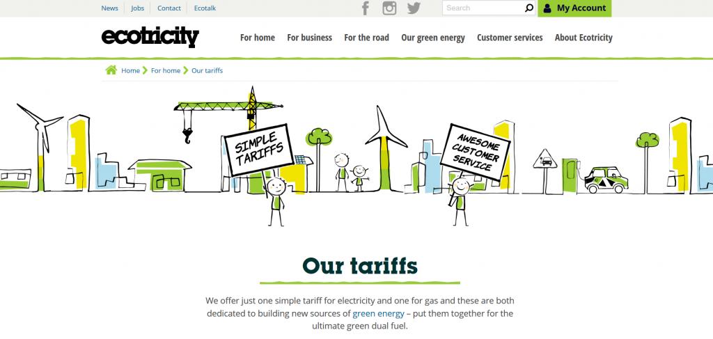 Ecotricity screenshot