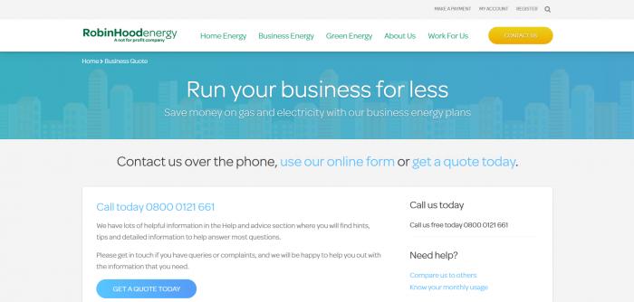 Robin Hood for Business screenshot
